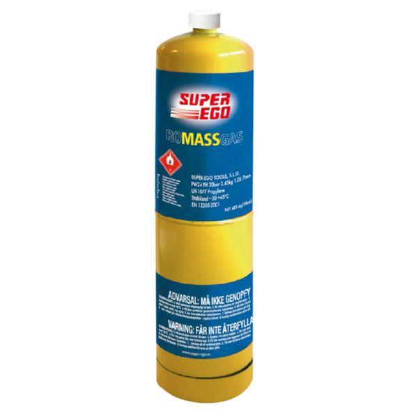 Botella MappGas 400 g. para soplete Ratio 4737H.