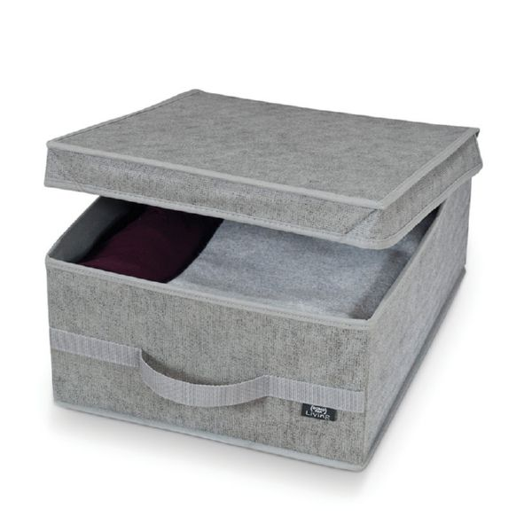Serie Stone. Caja guarda ropa M. 35x45x18cm.
